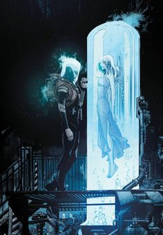 Mr. Freeze & Nora in Batman: White Knight - Sean Gordon Murphy