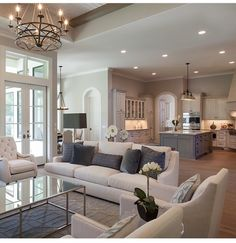 Dream home open plan