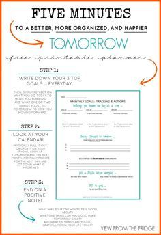 Free Printable Daily Planner Via Organizing Homelife  Top
