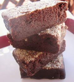 Gluten Free, easy to make fudge brownies, full of delicious, chocolaty goodness! Bake using Blanched Almond Flour.