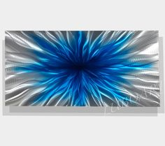 METAL abstract art wall sculpture modern contemporary by luboart