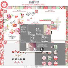 Sweetpea - digital kit