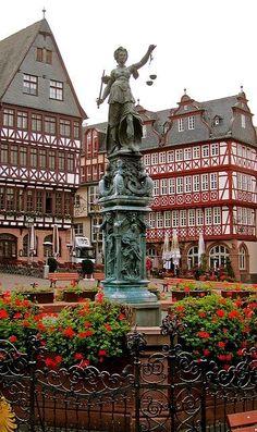 Altstadt Old Town, Frankfurt am Main, Germany
