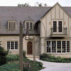 tudor style home ideas batten bricks and board. Black Bedroom Furniture Sets. Home Design Ideas