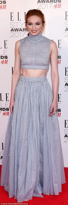 Iskra Lawrence oozes elegance at ELLE Style Awards | Daily Mail Online