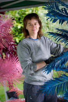 British artist Fiona Curran