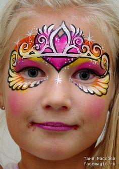 Princess. Face paint by Tanya Maslova.