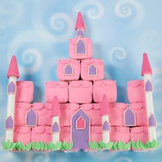 Cupscakes c/diseño de castillo