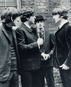 George Harrison, Paul McCartney, Richard Starkey, and John Lennon (The Lads)