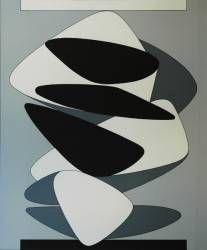 VASARELY VIKTOR. INIGOSCOUT.com, blankets, abstract art, craft, cabins, ski chalet, freedom