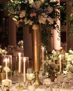 romantic wedding cen...