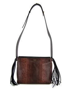 74b13a1360a4fc Lanvin Snakeskin Medium Tribal Bag Medium crossbody bag Wide shoulder  strap: 20-28