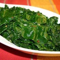14 nagyon finom ZÖLDSÉGES KÖRET a rántott hús mellé | Nosalty Spinach, Vegetables, Food, Essen, Vegetable Recipes, Meals, Yemek, Veggies, Eten