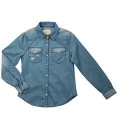 Chemise Bleu ♥ (taille: 14 ans) pour 29,99 euros