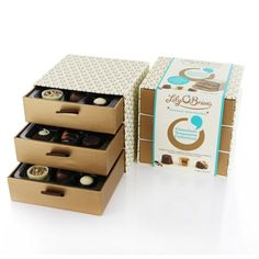 Chocolate Treasures Collection, 18 Chocolates FLOB8306