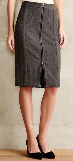 zip ponte pencil skirt #anthrofave  http://rstyle.me/n/sq85wpdpe