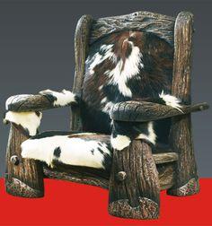 Авторская мебель — Царский трон — Кресло «Святогор»