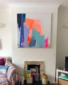 in situ. Your new colourful wall home is looking pretty dam good on you! … in situ. Your new colourful wall home is looking pretty dam good on you! Singapore Art, Surf Art, Abstract Wall Art, Colorful Abstract Art, Painting Abstract, Ocean Art, Living Room Art, Wall Colors, Painting Inspiration