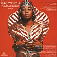 betty davis in kaisik wong& on the back of 'They say I'm Different'.