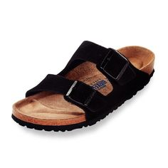 33d3ec16a98 Birkenstock - Arizona Sandal - Soft Footbed - Black Suede