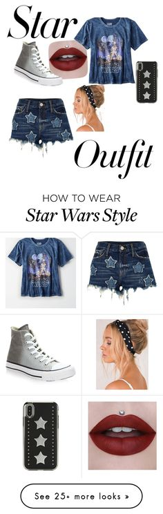"""May The Force Be With You"" by graceem323 on Polyvore featuring River Island, American Eagle Outfitters, Converse and StarOutfits"