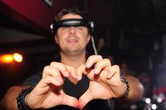 Axwell in Fur DJ booth