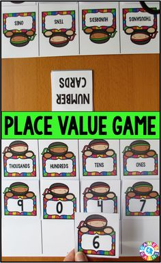 Want a fun, low-prep place value game to play in your math centers tomorrow? Learn how to play Place Value Top-Up at games4gains.com and get your FREE playing cards!