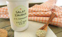 Salatzauber - Gewürzmischung selbst gemixt Bottle, Drinks, Blog, Salt, Potato Salad Mayonnaise, Green Bell Peppers, Raspberries, Red Bell Peppers, Beverages