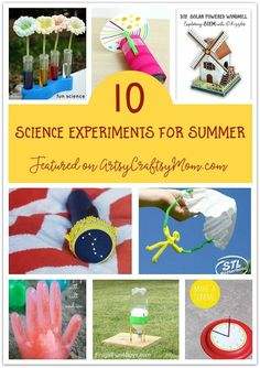 Don't waste the summer wondering what to do? Check out our ultimate list of 100 summer activities for kids, including crafts, printables and more! Craft Projects For Kids, Crafts For Kids To Make, Art For Kids, Science Projects, Craft Ideas, Kids Crafts, Science Activities For Kids, Summer Activities For Kids, Stem Activities