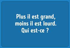 11énigmes qui vont mettre talogique àl'épreuve ! Psycho Test, Charades, Riddles, Sport Cars, Centre, French, French People, Puzzle, French Language
