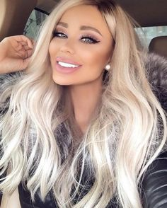 Shop our online store for blonde hair wigs for Fashion Ombre Blonde Wigs Blonde Wig From Our Wigs Shops,Buy The Wig Now With Big Discount. Blonde Brown Hair Color, Blonde Wig, Platnium Blonde Hair, Blonde Fringe, Big Blonde Hair, Blonde Hair Makeup, Icy Blonde, Blonde Pixie, Light Blonde