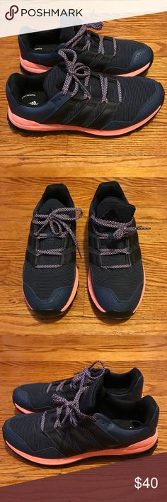 NWOB! Adidas Outdoor Running sneakers Like new (never worn outdoors) running sneakers from Adidas Outdoor brand. Grips underneath, would be great for hiking, sports, and outdoor activities. Adidas Outdoors Shoes Sneakers