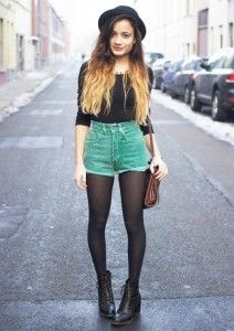 grunge shorts