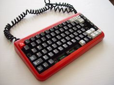 """""""Red case body for TG3 BL82, and replaced most of caps with Cherry doubleshots... still a few to find. Damn their odd key sizes."""""""