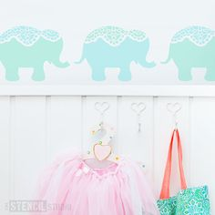 Hey, I found this really awesome Etsy listing at https://www.etsy.com/listing/217031438/nellie-elephant-stencil-from-the-stencil