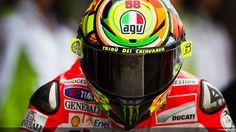 Wallpaper Valentino Rossi Ducati Team 2012