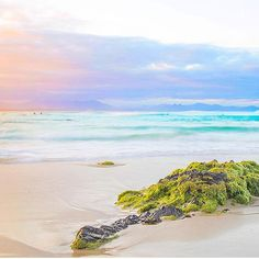 Pretty pastel landscape