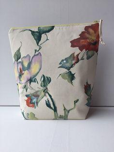 Project Bag Zipper Medium by LowlandOriginals on Etsy