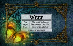 Weep  Strange the Dreamer Inspired Scented Soy by WickandFable
