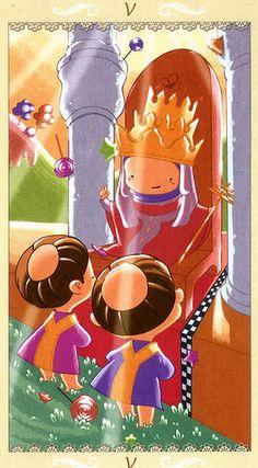 The Hierophant - Happy Tarot