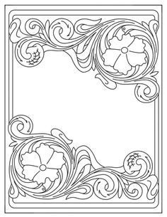 Leather Carving, Leather Tooling, Craft Patterns, Flower Patterns, Scroll Pattern, Leather Pattern, Sandro, Leather Craft, Wallets