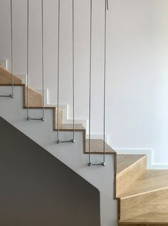 See what plywood can do in interiors. It is cheap, durable Stair Railing Ideas It is plywood cheap, durable, interiors can work See it See what plywood can do in interiors. It is cheap and durable St . Sabrina treppengeländen See Staircase Railing Design, Modern Stair Railing, Staircase Storage, House Staircase, Home Stairs Design, Stair Handrail, Modern Stairs, Interior Stairs, House Design