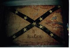 Regimental Flag of the Alabama Cavalry Confederate States Of America, Confederate Flag, Southern Heritage, Southern Pride, American Civil War, American History, Civil War Flags, Rebel Yell, The Lone Ranger