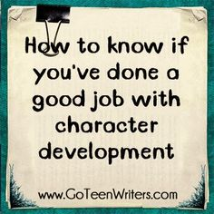This is a fantastic link! Incredibly helpful tips about character arch. A must read for authors in progress