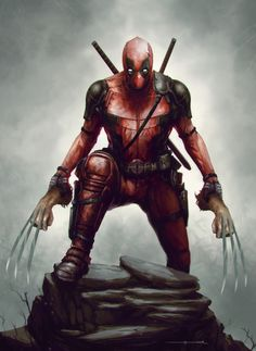 Deadpool - fan art by ömer tunç