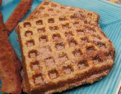 Searching for a wonderful breakfast idea? Make French Toast Waffles, by cooking custard-soaked bread in a waffle iron!