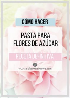 Como Hacer Royal Icing, Sugar Paste Flowers, Paste Recipe, Modeling Chocolate, Cupcake Cookies, Cupcakes, Baileys, Flower Tutorial, Cake Decorating