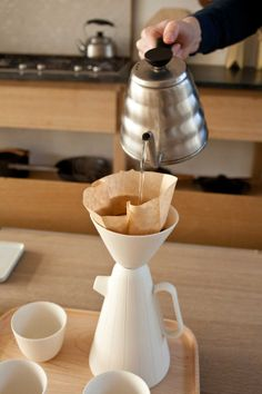 Sucabaruca: Coffee set by Luca Nichetto