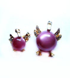 Vintage Duck Pins