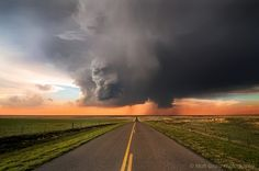 Just viewed on 72dpi.com: Late Springtime Thunderstorm just outside of Woodward, Oklahoma.